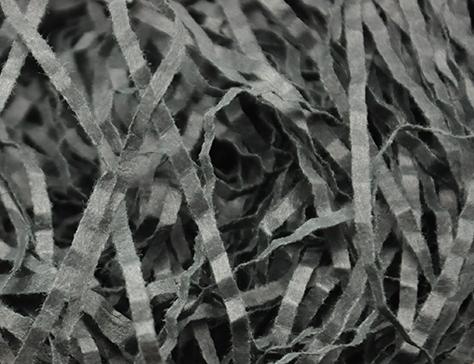 Wave Paper Shreds 1