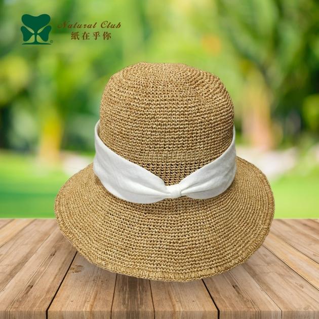 泰國純手工紙線帽<BR>#TW19-001 2