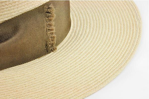 平頂紙編遮陽帽-深藍色 4