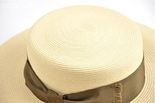 平頂紙編遮陽帽-深藍色 3