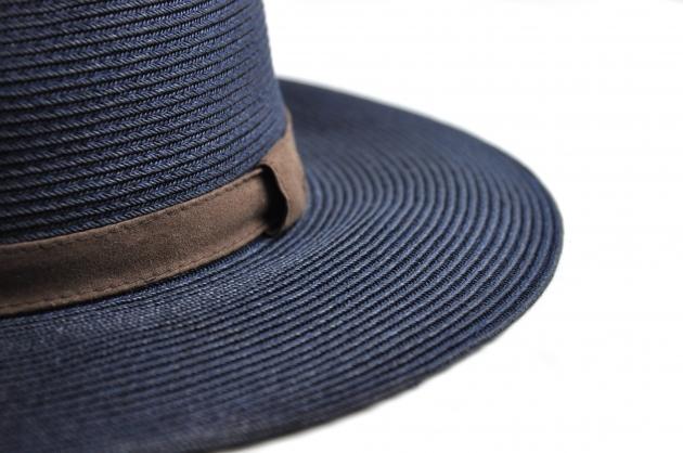 時尚紙編紳士帽-自然 4