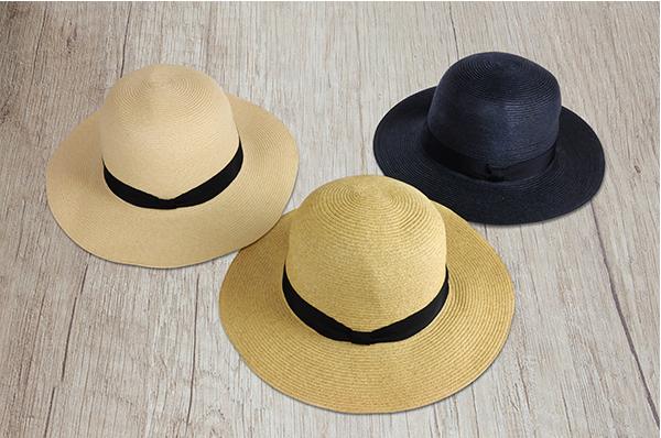 圓頂紙編遮陽帽-自然 2