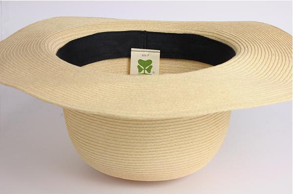 圓頂紙編遮陽帽-自然 3