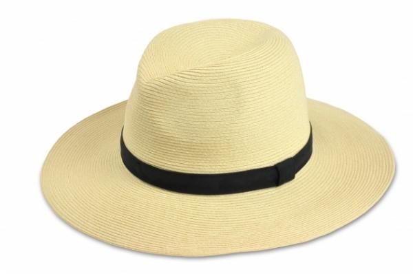 時尚紙編紳士帽-米白 1