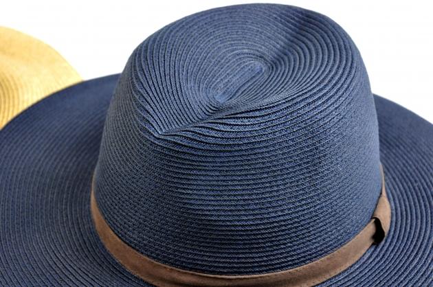 時尚紙編紳士帽-自然 3