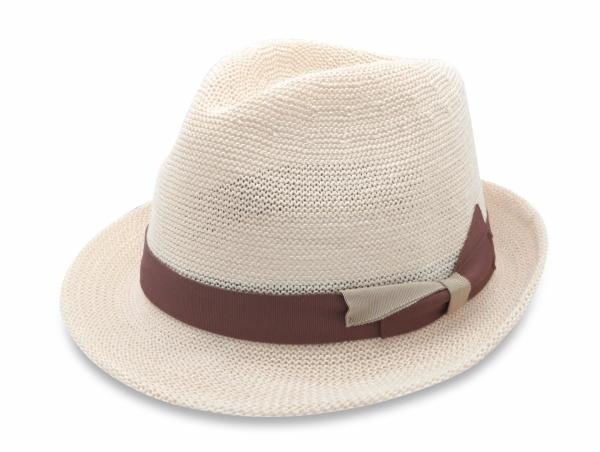 春夏韓版爵士帽-米白 1