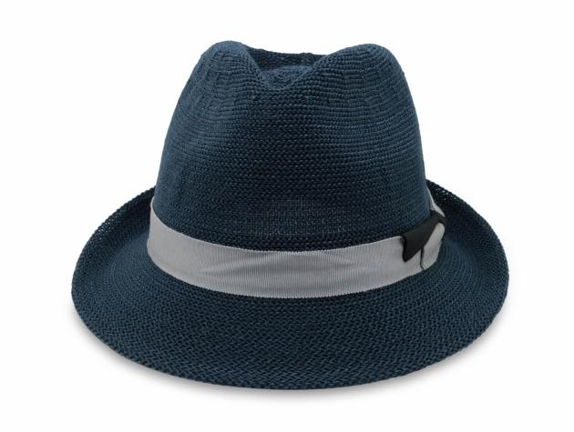 春夏韓版爵士帽-深藍 2