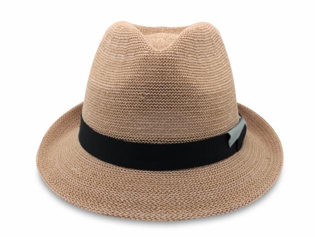 春夏韓版爵士帽-自然 2