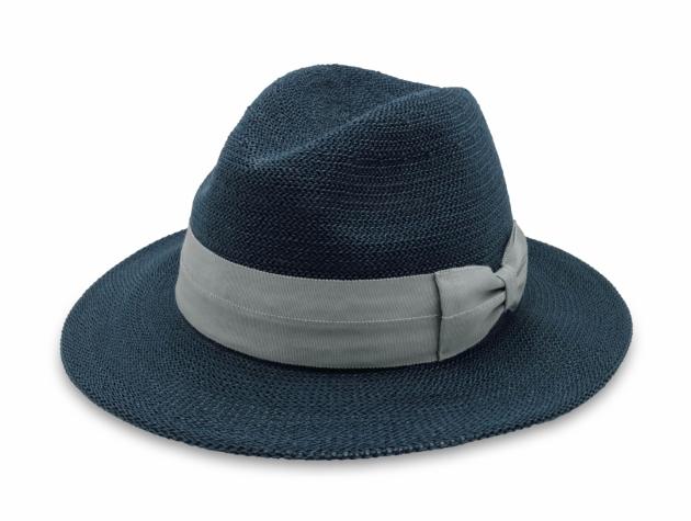 英倫雅痞紳士帽-深藍 1